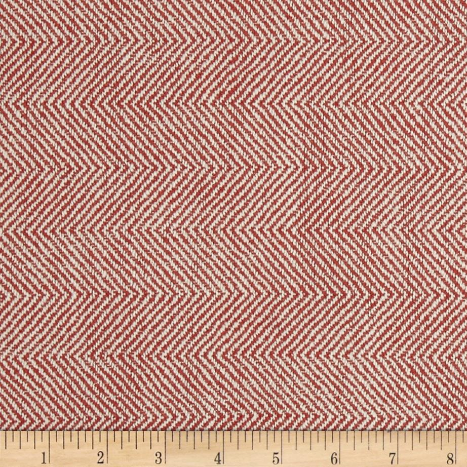 Richloom Olson Woven Herringbone Papaya