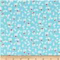 Penny Rose Toy Chest 2 Floral Aqua
