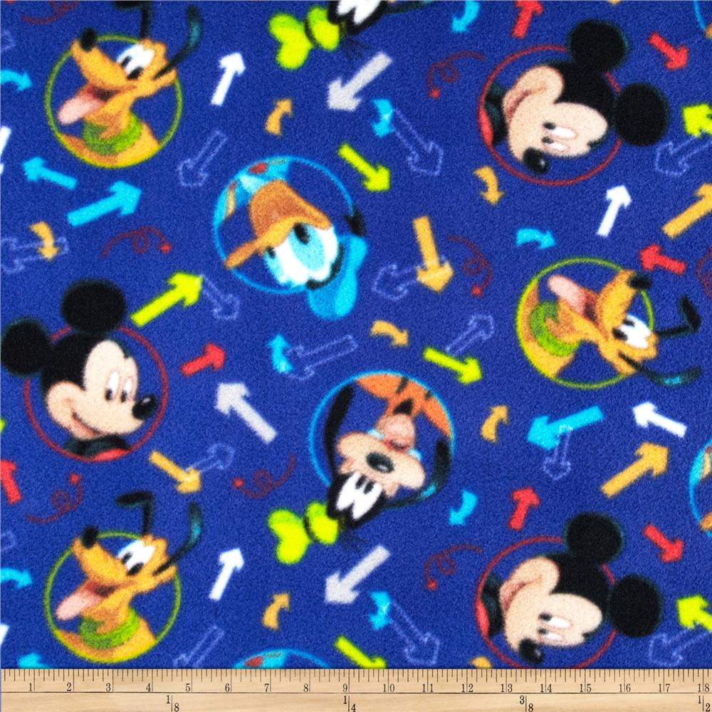 Disney Mickey & Friends Fleece Arrow Toss Blue