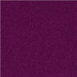 Stretch Rayon Bamboo French Terry Knit Violet Fabric
