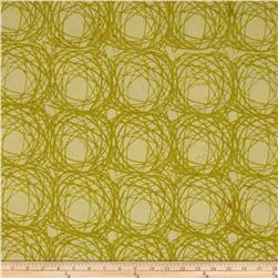 Bali Batiks Handpaints Large Spirals Key Lime