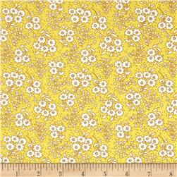 Penny Rose Dolly Flowers Yellow