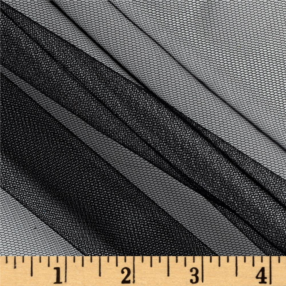 Nylon Netting Black Fabric By The Yard