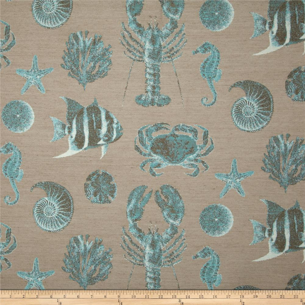 Swavelle/Mill Creek Seafaring Jacquard Turquoise