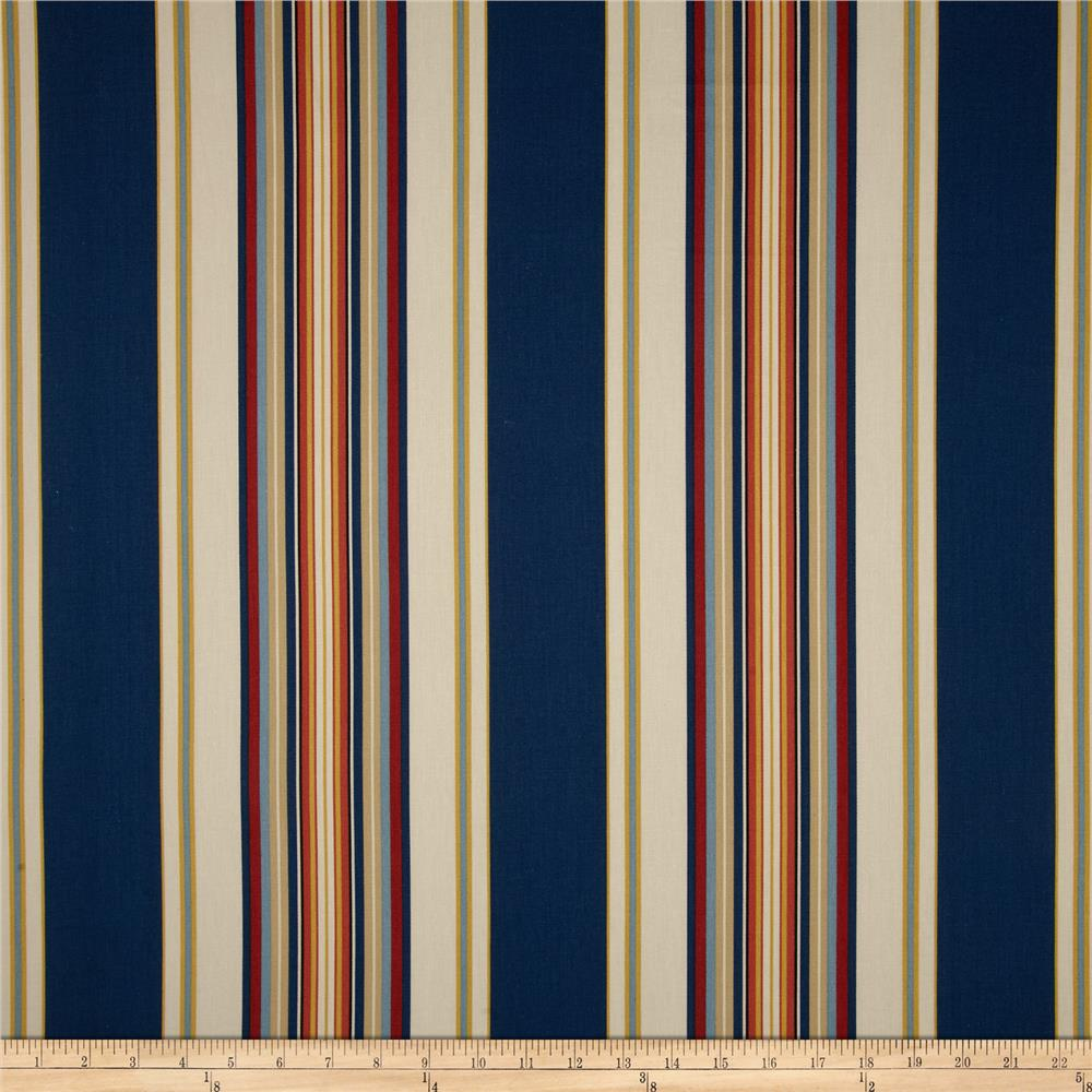 Duralee Home Claires Stripe II Twill Multi