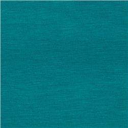 Rayon Spandex Jersey Knit Dark Turquoise
