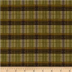 Mountain Woods Plaid Brown