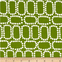 Downtown Ringlets Green Fabric