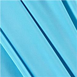 Poly Spandex Stretch ITY Knit Solid Sky Blue
