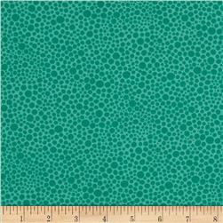 Quiltologie Abstract Dot Turquoise