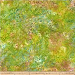 Island Batik Mum Light Green/Purple/Blue