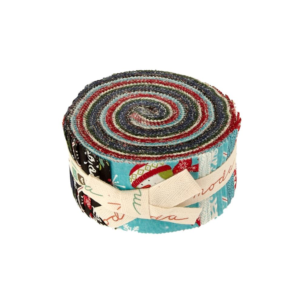 "Moda Be Jolly 2.5"" Jelly Roll"