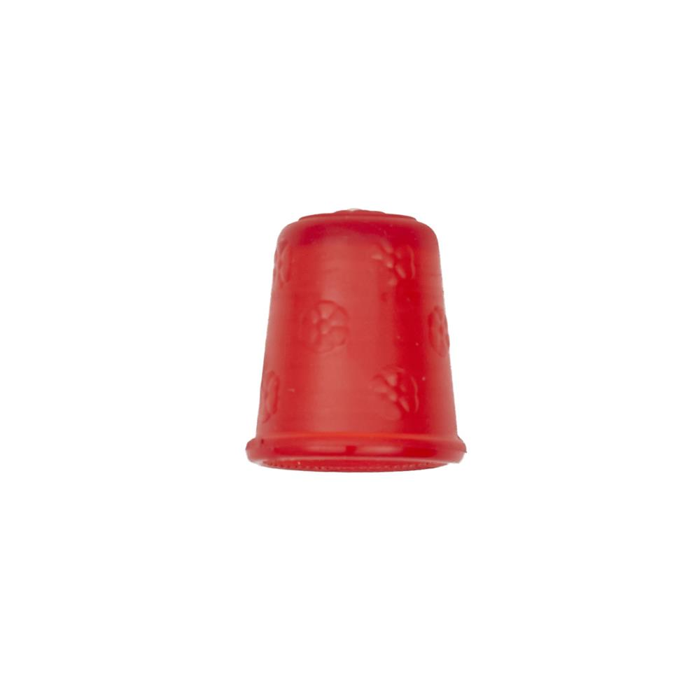 "Dill Rubberized Thimble 11/16"" Red"