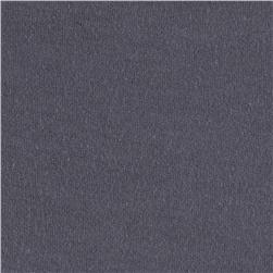 Cotton Jersey Knit Solid Dark Grey