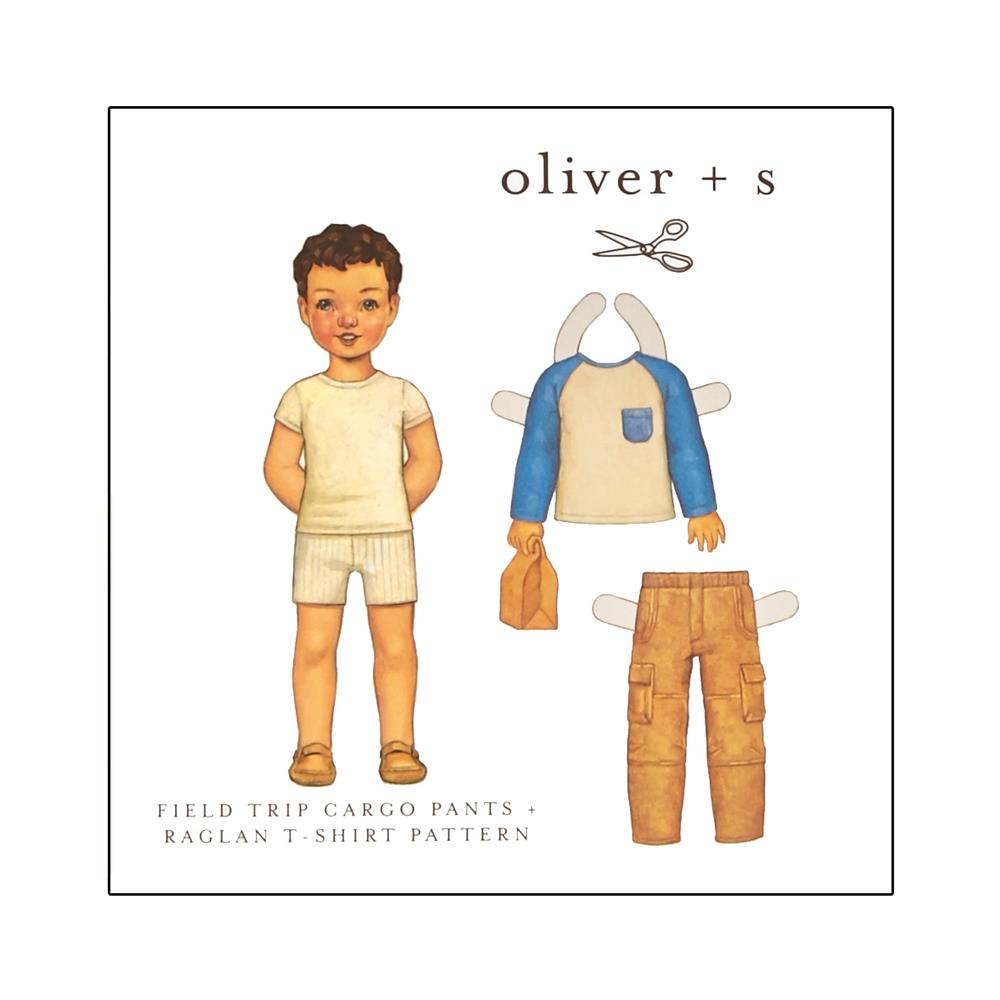 Oliver + S Field Trip Cargo Pants and