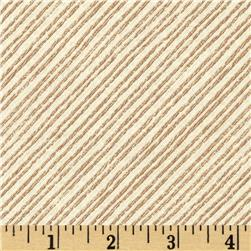 Moda More Hearty Good Wishes Stripes Pearl/Sand