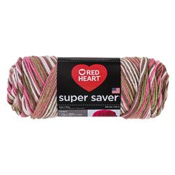 Red Heart Super Saver Yarn 972 Pink Camo (m)