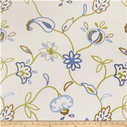 Jaclyn Smith Embroidered Cally Indigo