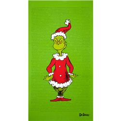 How The Grinch Stole Christmas Grinch Panel Green