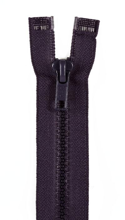 "Sport Separating Zipper 24"" Navy"
