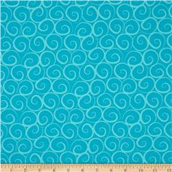 Boutique Brights Curlz Aqua