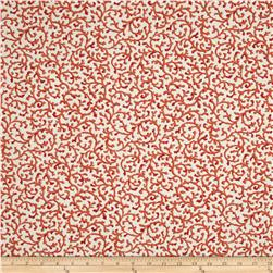 Waverly Coral Curl Coral Reef Fabric