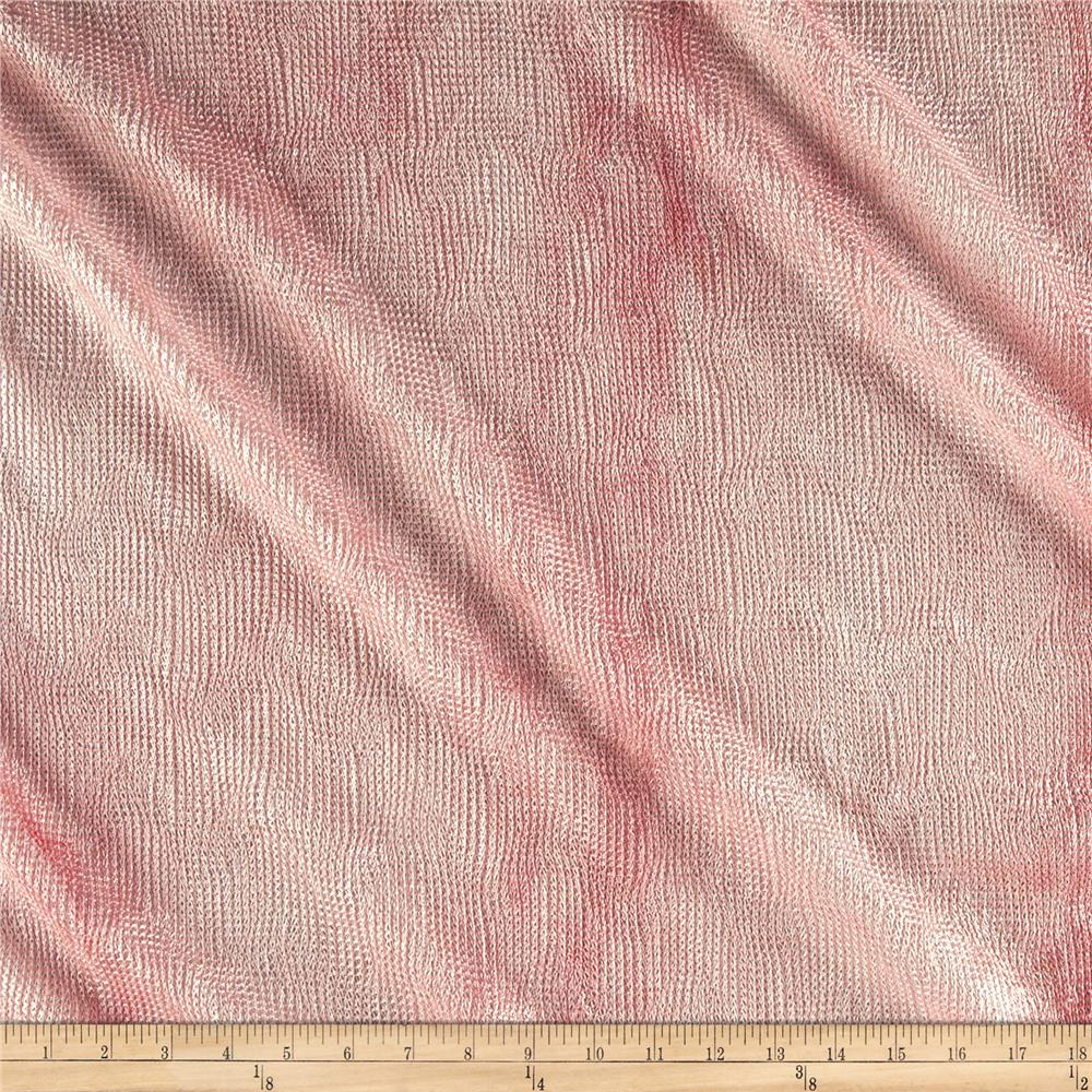 Bombay Crush Knit Fabric Pink