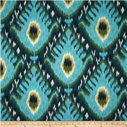 Robert Allen @ Home Bold Ikat Aqua Fabric