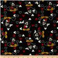 Disney Mickey Everyday Mickey and Icons Toss Black