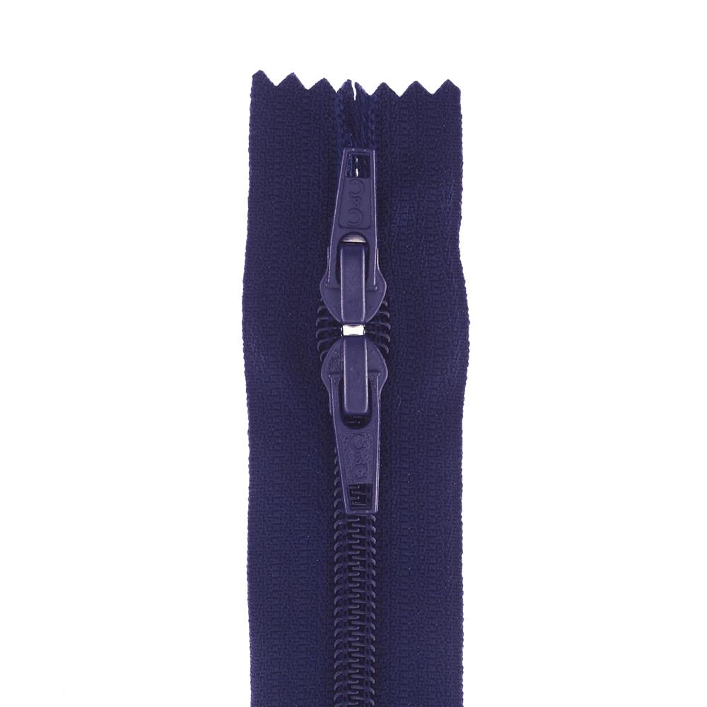 "Coats & Clark Purse Zipper 22"" Navy"