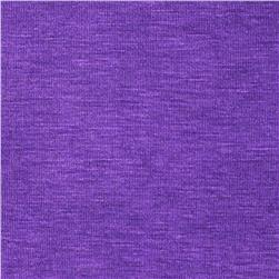 Rayon Spandex Jersey Knit Cool Purple