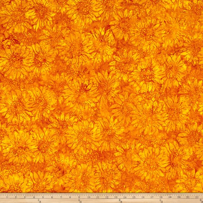 Island Batik Sunflower Gold
