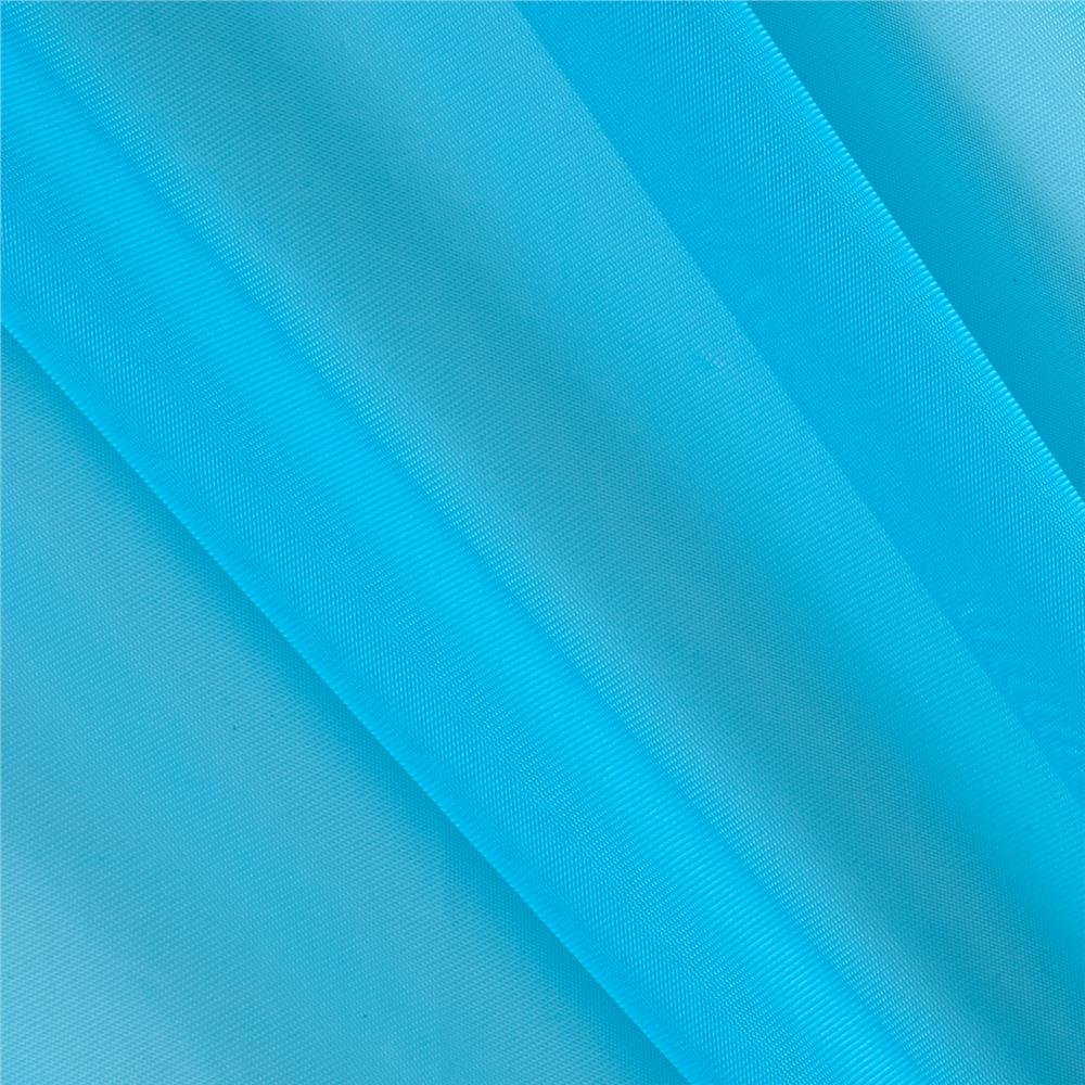 120 sheer voile turquoise discount designer fabric for Voile fabric