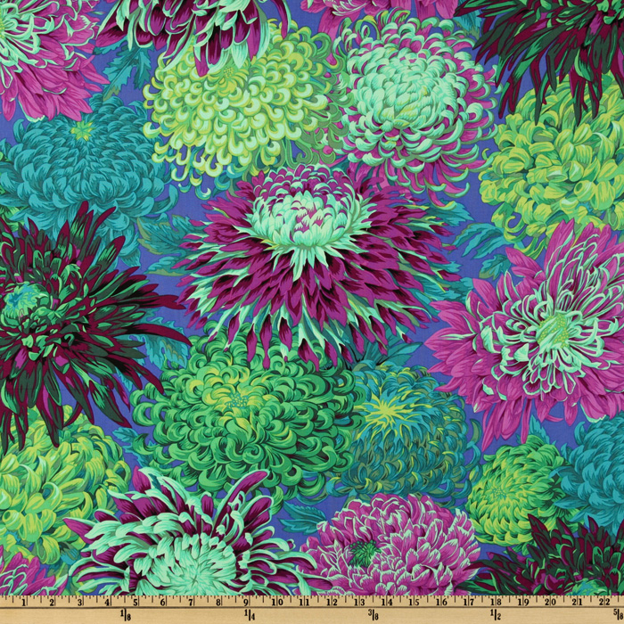 Kaffe Fassett Collective 2010 Pandora Chrysanthemum Fabric