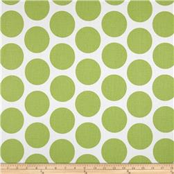 Premier Prints Fancy Dot Kiwi Fabric