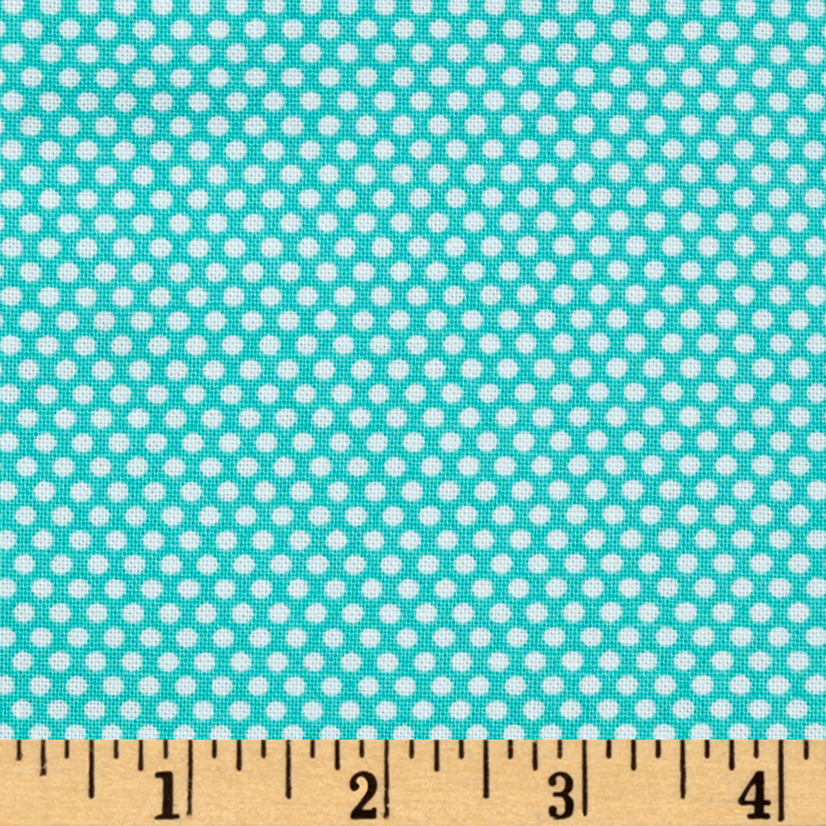 Bree Tiny Dot Aqua Fabric