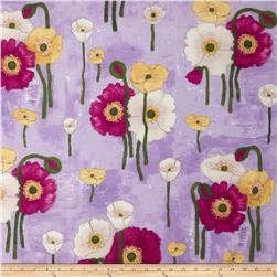 Michael Miller Vignette Gathered Poppies Orchid