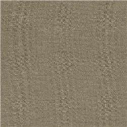 Stretch Rayon Tissue Hatchi Knit Medium Taupe Fabric