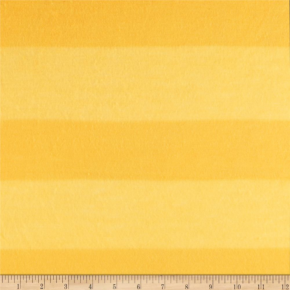 Designer Hatchi Sweater Knit Stripe Yellow