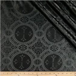 Clergy Brocade Black