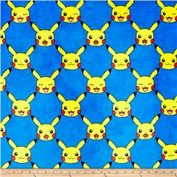 Kaufman Ultra Plush Fleece Pokemon Trellis Royal
