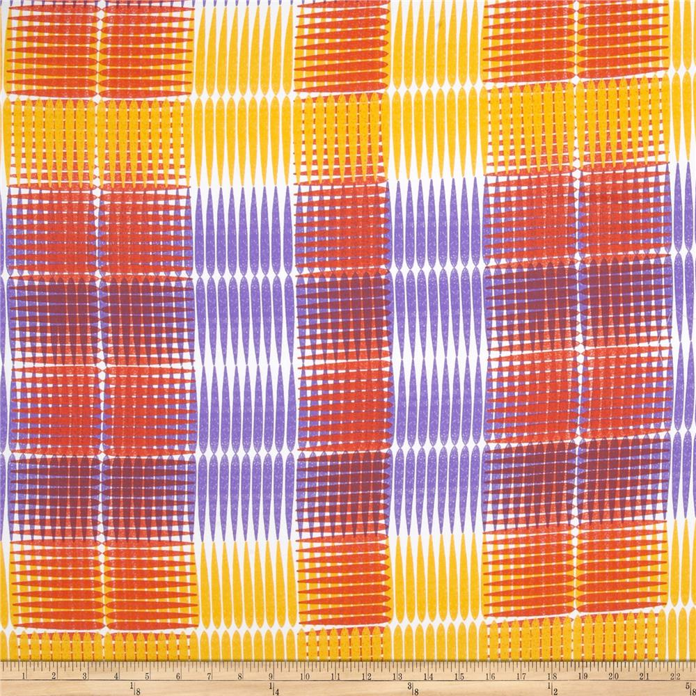 Ty Pennington Home Decor Sateen Fall 11 Plaid Purple