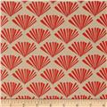 Moda Valley Fringe Bisque-Coral