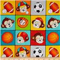 Good Sports Monkeys In Blocks Multi