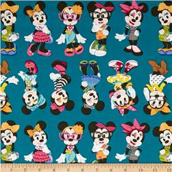 Disney Minnie Mouse Fashionista Teal