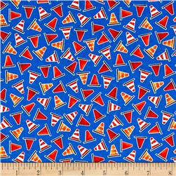 Be My Hero Mini Safety Cones Dark Blue