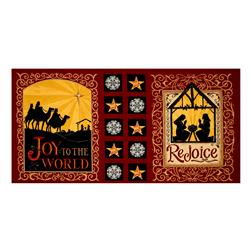 Moda Rejoice In The Season 22 In. Panel Berry Red