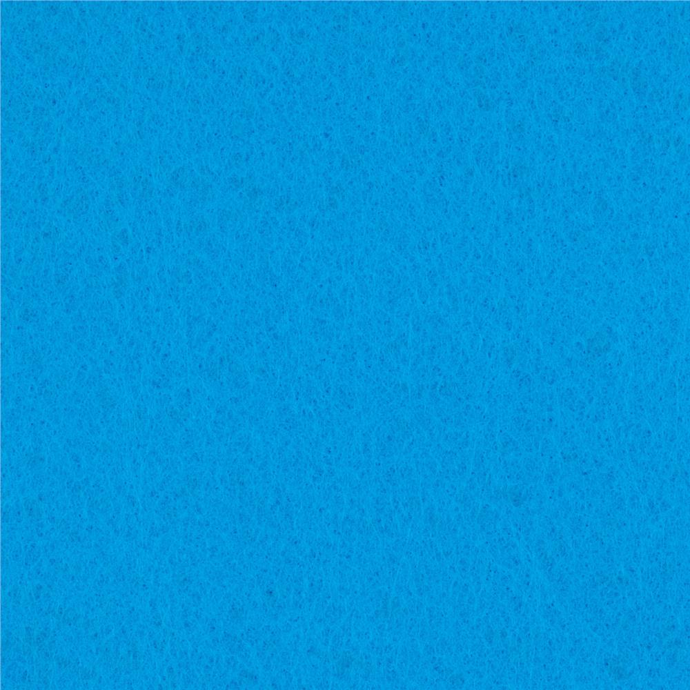 "Rainbow Classic Felt 72"" x By the Yard Craft Felt Brillant Blue"