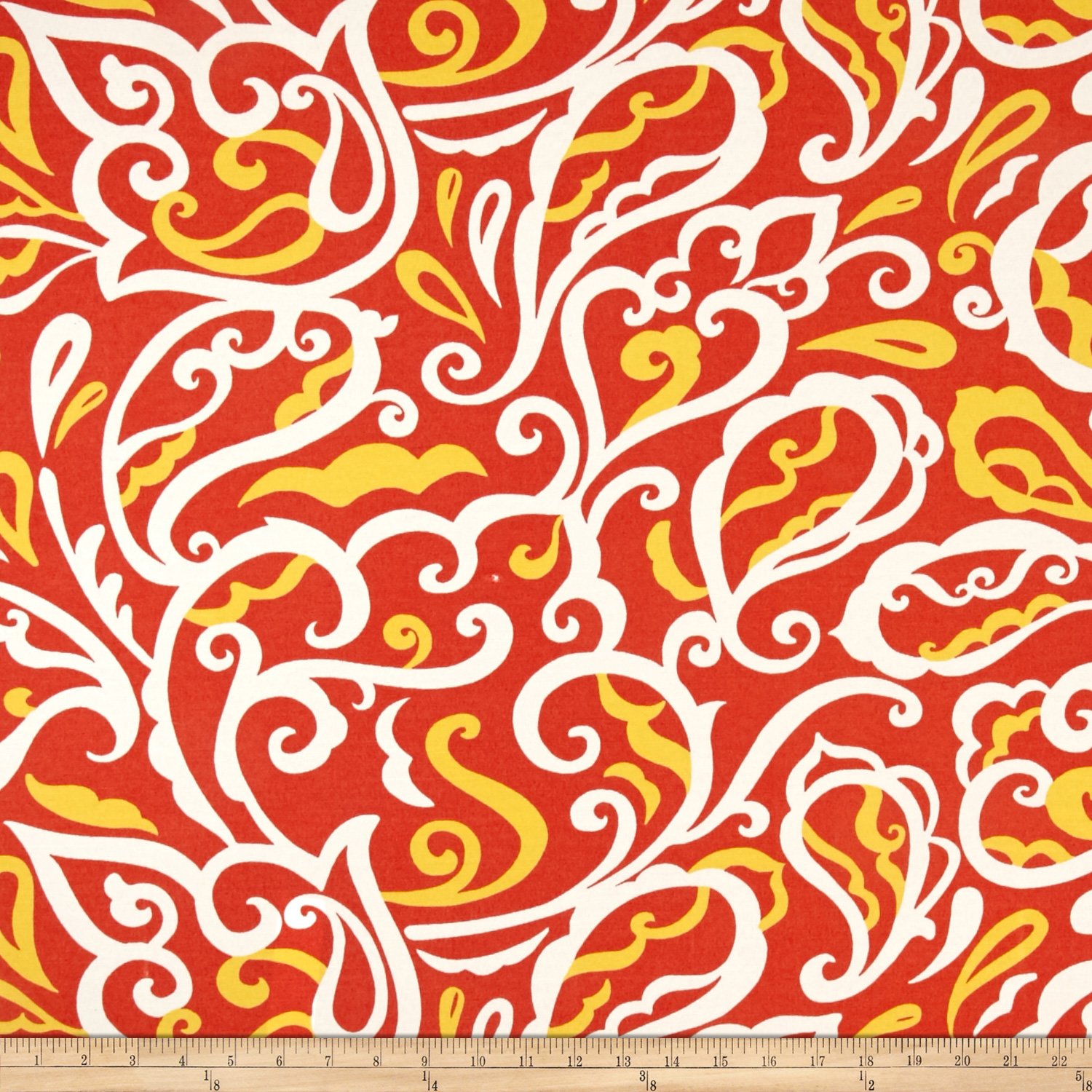 Richloom Indoor/Outdoor Albany Mango Fabric by TNT in USA