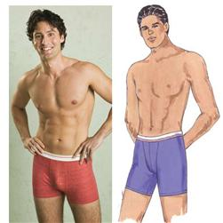 Kwik Sew Men's Boxer Briefs Pattern